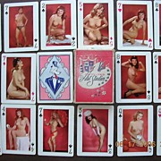 Vintage WOLF Girlie Playing Cards 1950's