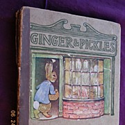 "Beatrix Potter ""Ginger & Pickles"" First Edition 1909"