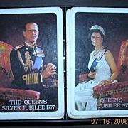 Queen Elzabeth 11 Royal Coronation Playing Cards 1953