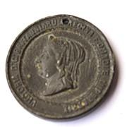 1887 Queen Victoria 50th Jubilee Commemorative Medallion