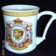 Art Deco Coronation Tankard George 1V & Elizabeth 1937