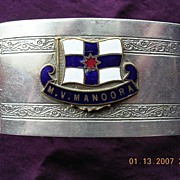 Vintage MV MANOORA Napkin Ring