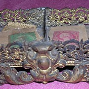 Ornate Small Victorian Stamp Holder