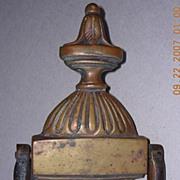 SOLD genuine Old Victorian Bronze Door Knocker