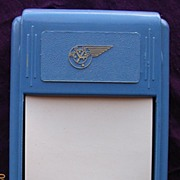 Vintage Airline Advertising Note Pad BCPA Circa 1950