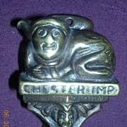 1909 CHESTER IMP Brass Door Knocker