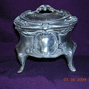 Victorian Art Nouveau Trinket Box