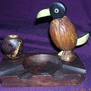 Rare Art Deco DODO Bird Ashtray Circa 1930's