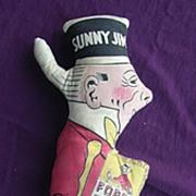 Vintage SUNNY JIM Advertising Doll