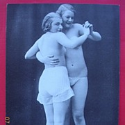 1982 Italian Nude Dancers With Lesbian Overtones