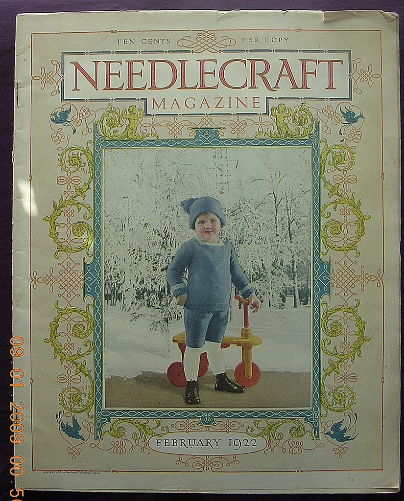 1922 Vintage NEEDLECRAFT Magazine