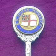 Shaw Savill & Albion 'S.S. OCEAN MONARCH' Souvenir Teaspoon