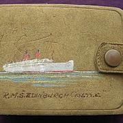 Union Castle Line 'Edinburgh Castle 2' Souvenir Card Pack Holder