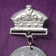 1897 Queen Victoria Commemorative Medallion 50 Years Reign