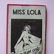 MISS LOLA Striptease 'For Men Only'