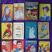 Vintage 'Walt Disney' Children's Playing Cards 'Cinderella'