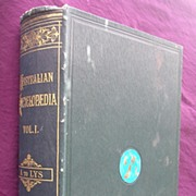 Vintage Books 'The Australian Encyclopedia Volumes 1 & 2' 1925 & 1926