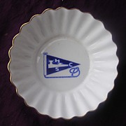 Vintage 'Clyde Shipping Company' Shelley Porcelain  Butter Dish