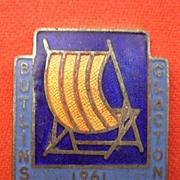 1961 Butlins CLACTON Camp Badge