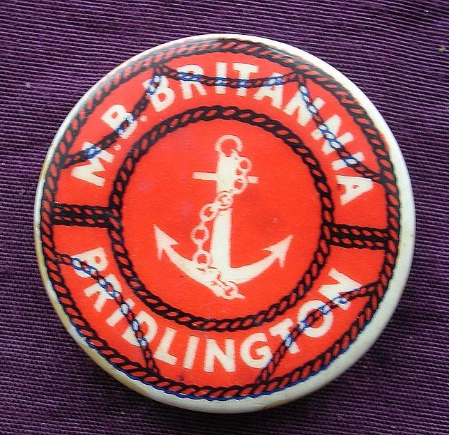 A Tin Camp Badge From 'THE M.B. Bridlington'