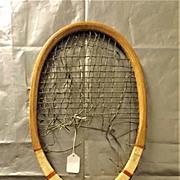 1920's French  'DRIWA' Tennis Racquet