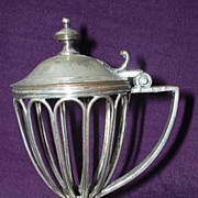German WMF  Classical Mustard Pot Circa 1890 - 1900