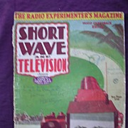 Short Wave & Television Magazine January 1937