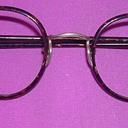 Victorian Round Spectacles - OWL Type