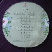 Royal Interocean Lines 'S.S. TJIWANGI' Souvenir Fan