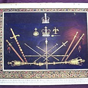 Coronation Of King George V & Queen Mary - Plate X In Evidence At The Greatest Solemnity Of Ro