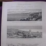'Improvements On The Kentish Coast' - Illustrated London News Oct. 22 1881