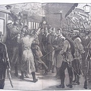 The State Of Ireland: Arrested Under The Coercion Act - A Sketch At Roscommon Railway Station