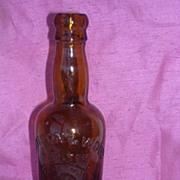 Davison & Wood Ltd Gateshead Beer Bottle Circa 1900