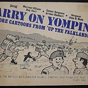 """Falklands War 'Carry On Yomping"""" Cartoon Book 1982"""