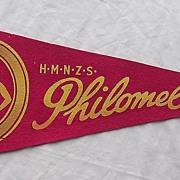 H.M.N.Z.S. Philomel Pennant