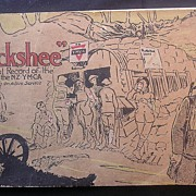"""""""BUCKSHEE"""" - A Pictorial Record Of The Work Of The N.Z.Y.M.C.A ..."""