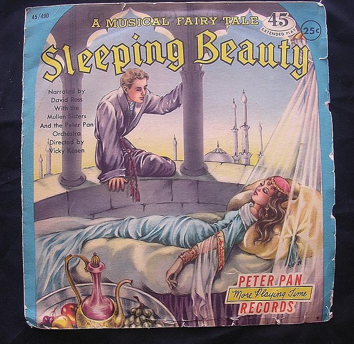 PETER PAN Records 'Sleeping Beauty' 1958