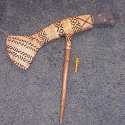 Huge Chiefs War Axe From The Highlands Of Papua New Guinea