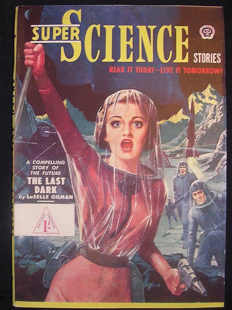SCI-FI Magazine - Super Science British Edition No.5 1950