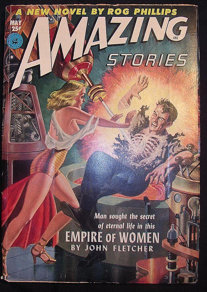 SCI-FI Magazine - Amazing Stories -Vol. 26 May 1952