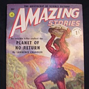 SCI-FI Magazine - Amazing Stories - Vol. 14 1951