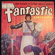 SCI-FI Magazine - Fantastic Adventures No 15 1951
