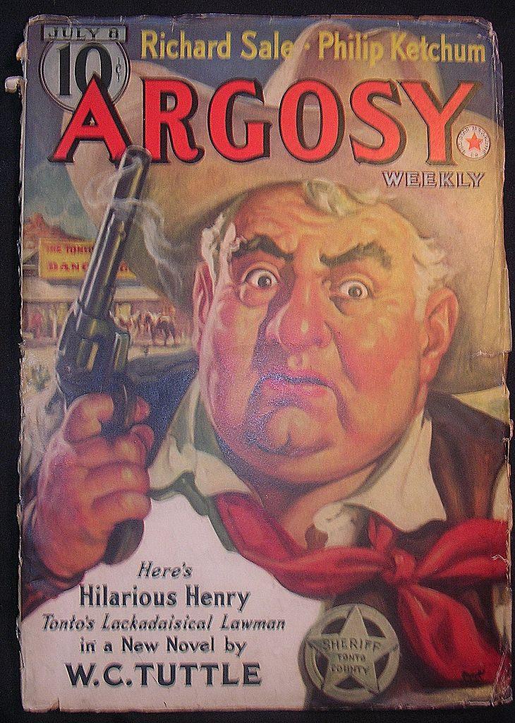 Sci-Fi Magazine - ARGOSY July 8 1939