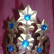 Fantastic Madonna Tiara Crown Circa 1930 - 1940 South America