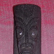 Hawaiian Coco Joe Lava Rock God Figure