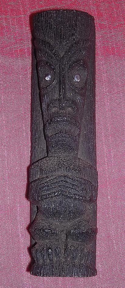 Hawaiian Coco Joe Lava Rock God Figure