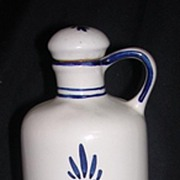 DELFT BLUE Hand-Painted 'BOLS' Liqueur Crock