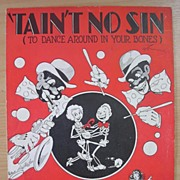 BLACK Americana Sheet Music 'Tain't No Sin'