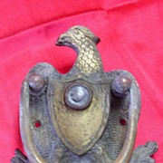 SOLD Georgian 'Eagle' Door Knocker With Spy Glass Eye Hole