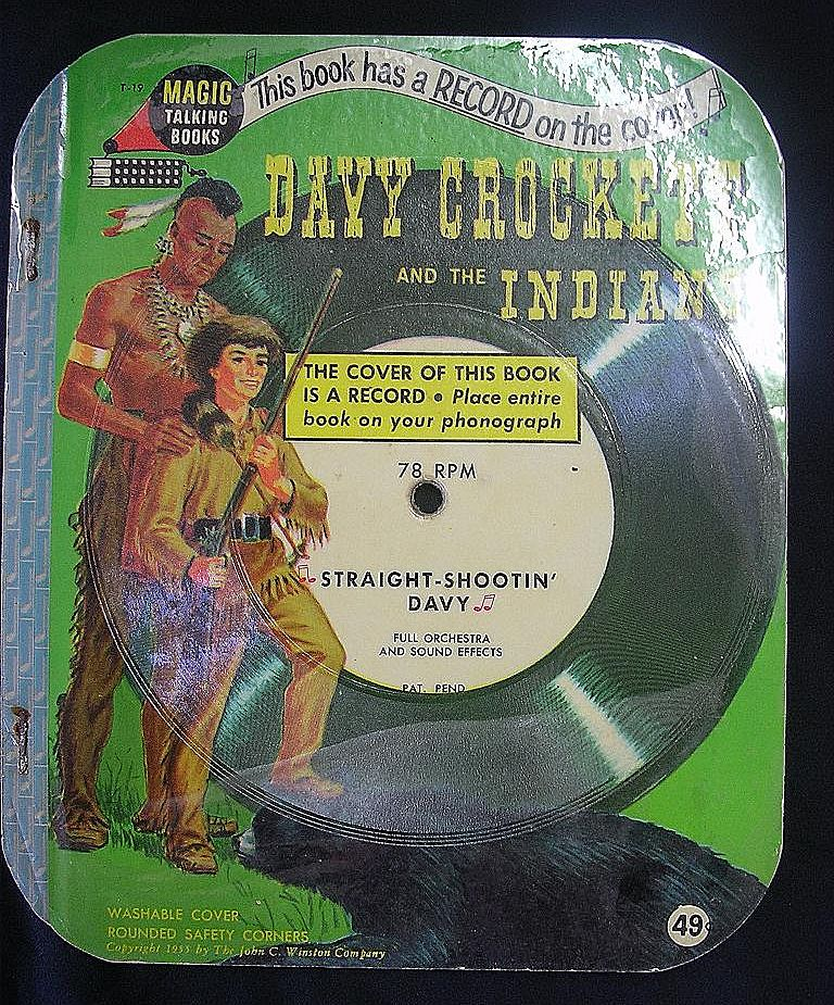 Magic Talking Book 'Davy Crockett and The Indians'